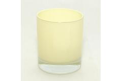 Bicchiere In Vetro Color Alto 10 Cm Diametro 7 Cm