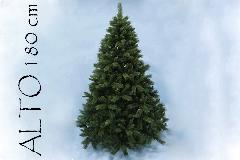 Albero Di Natale Pino Sweden Cm 180 Tips 830 Base Cm 119