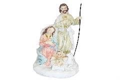 Nativita Presepe Colorato Cm 13 In Resina Decorazioni Arredo Natale