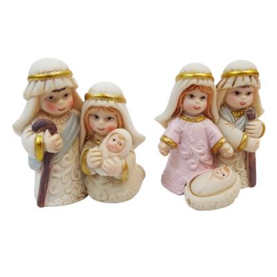 Nativita Assortita Cm 4,7 Pz 1 Decorazione Natale Mini Presepe