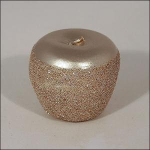 Tre Candele Cera Mela Glitter