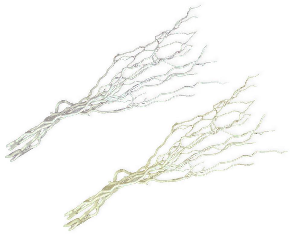 Rami Pz 6 Naturali Coriolus Branch Cm 120 Decorazione Arredo