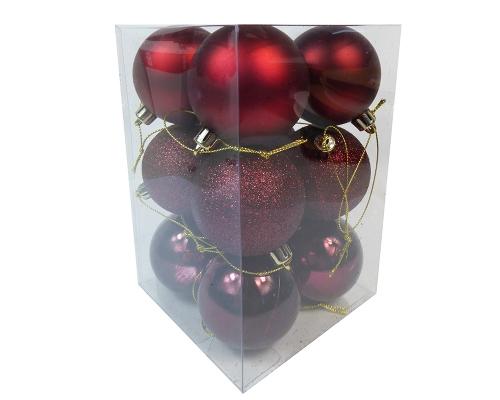 Box Sfere Combi Mm 6 Pz 12 Decorazione Natale
