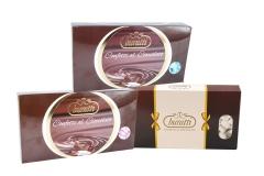 Confetti Buratti  A Cuore Medio Al Cioccolato Da 1 Kg