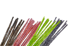 Pz 10 Bamboo Colorato Mt 1 Naturale Decorazione Arredo