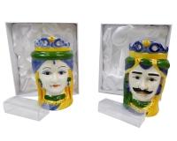 Mori Porcellana Colorato 7,5x7,5x13 Bomboniere Fai Da Te Applicazione
