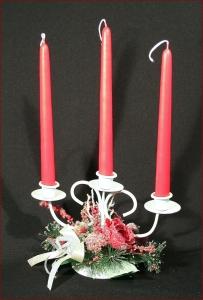 Candelabro Candele Brinata Albero Natale