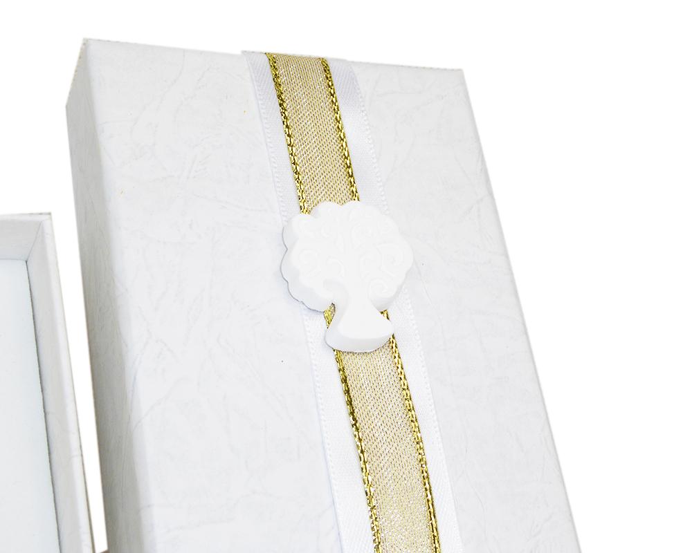 Bomboniera Albero Della Vita Citrino Giallo C/scatola Nozze Oro
